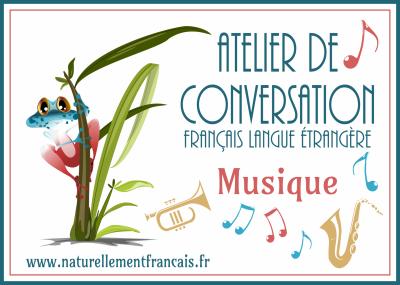 Atelier de conversation : la musique