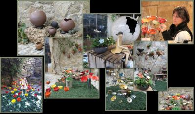 Artiste sculpteur cueilleur dans le Languedoc
