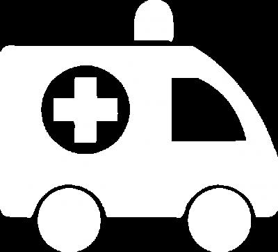 Health ambulance white