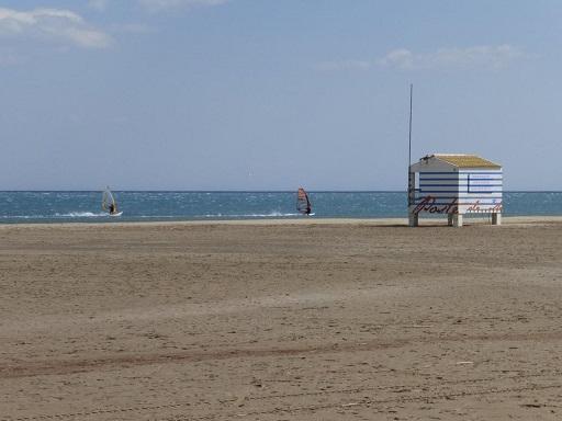 La plage des chalets