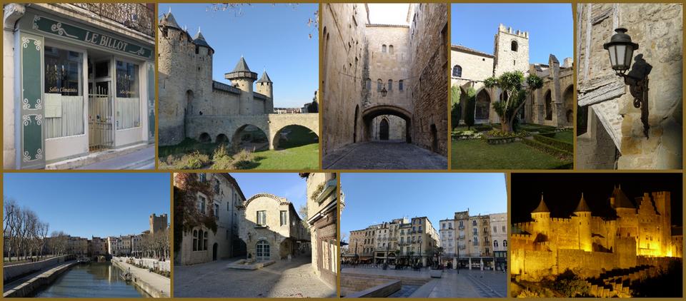 Descubrir Narbonne y Carcassonne