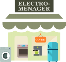 le magasin d'électromenager