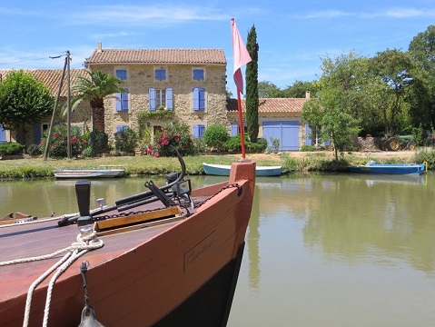 Sail on the canal du Midi