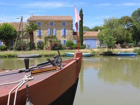 Sail on the canal du Midi