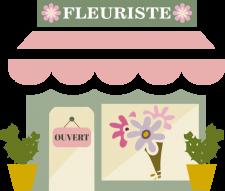 le magasin de fleurs