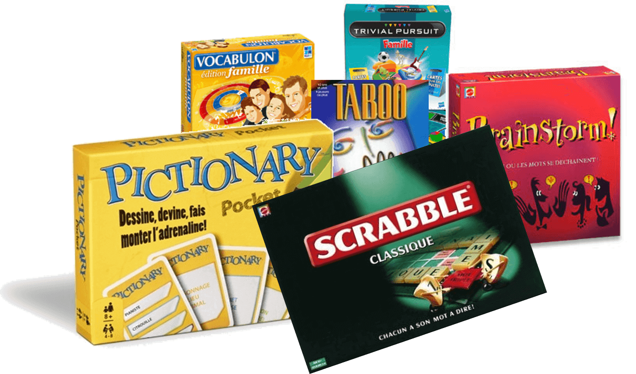 French board games workshop