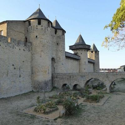 French class and discovery of carcassonne