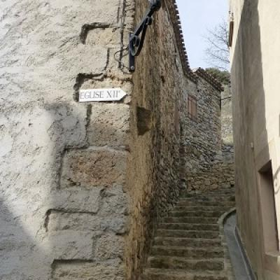 French courses and visit termes castel and village