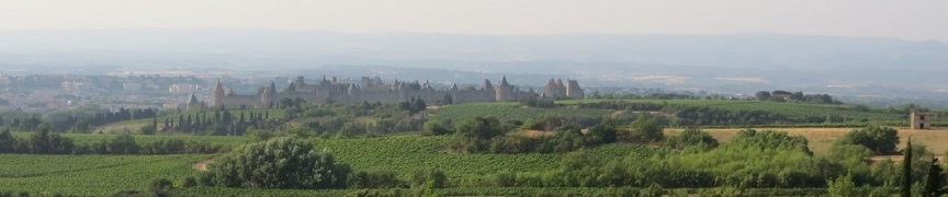 The fortified Carcassonne, world heritage by UNESCO
