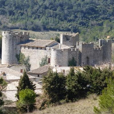 Hike through French medieval villages during your French immersion