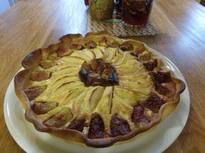 Dégustation de tarte maison et cours de français