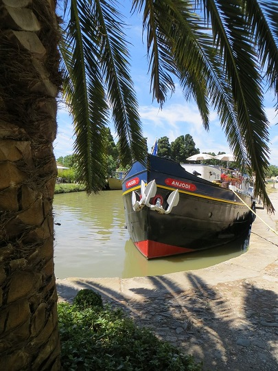 The canal: an oases of calm and tranquillity