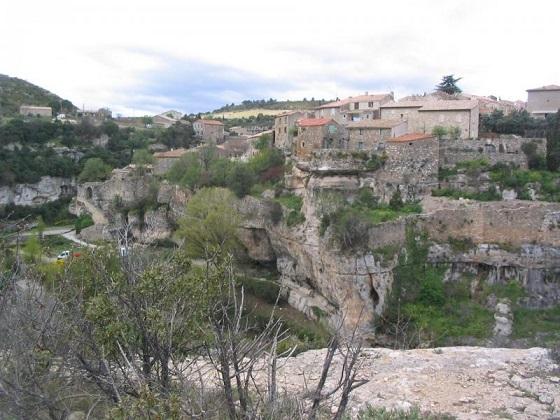 Minerve a natural fortresse